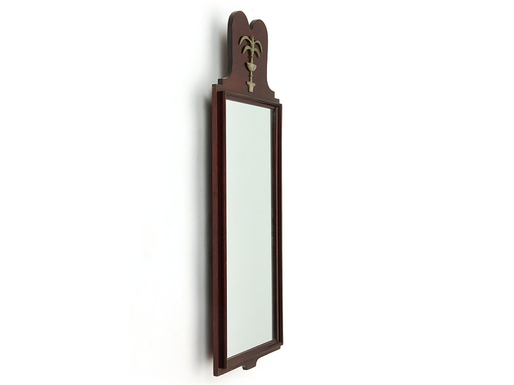 Narrow wall mirror at 1stdibs for Skinny wall mirror
