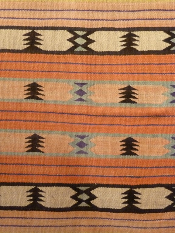 20th Century Navajo Weaving. For Sale