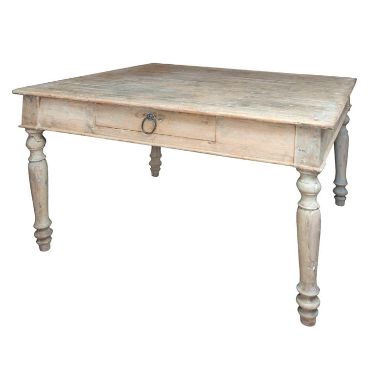 White Pine Square Table 1
