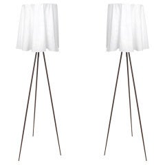 "Pair of ""Rosy Angelis"" Floor Lamps by Philippe Starck for Flos."