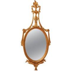 1920's Gilded Italian Mirror.
