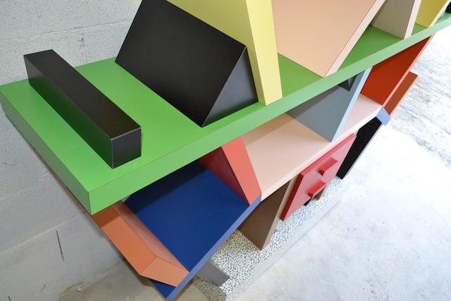 Bookcase By E. Sottsass 10