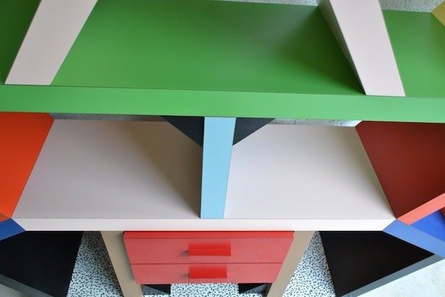 Bookcase By E. Sottsass 6