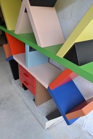 Bookcase By E. Sottsass 8