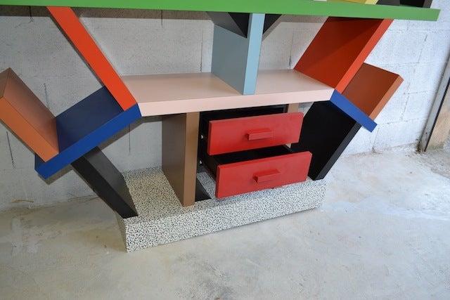 Bookcase By E. Sottsass 9