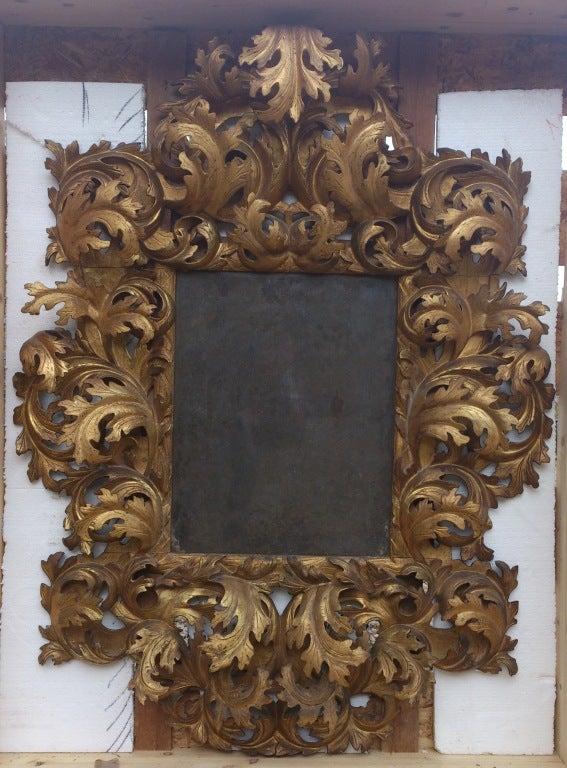 17th Century Italian Rococo Mirror image 6