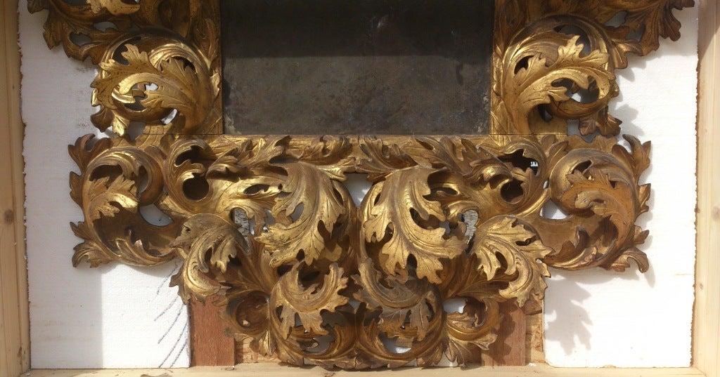 17th Century Italian Rococo Mirror image 8