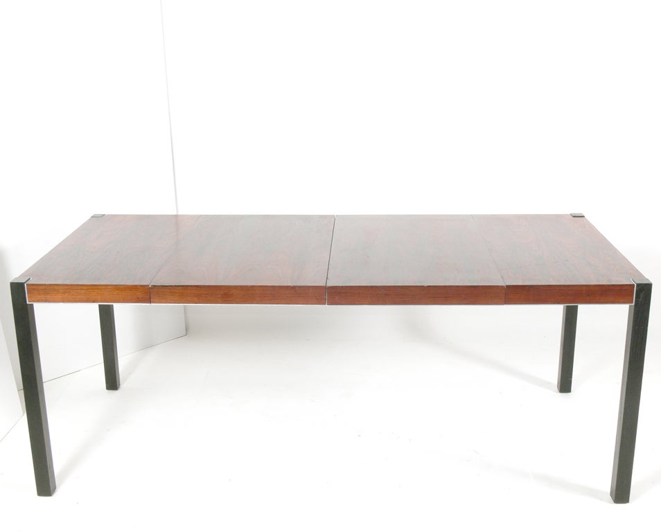 Rosewood Dining Table Seats 4 8 People At 1stdibs