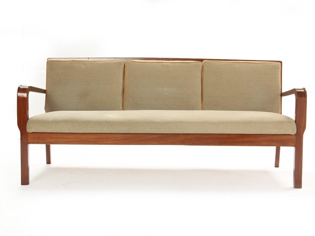 Slat-Back Sofa by Kindt-Larsen 2