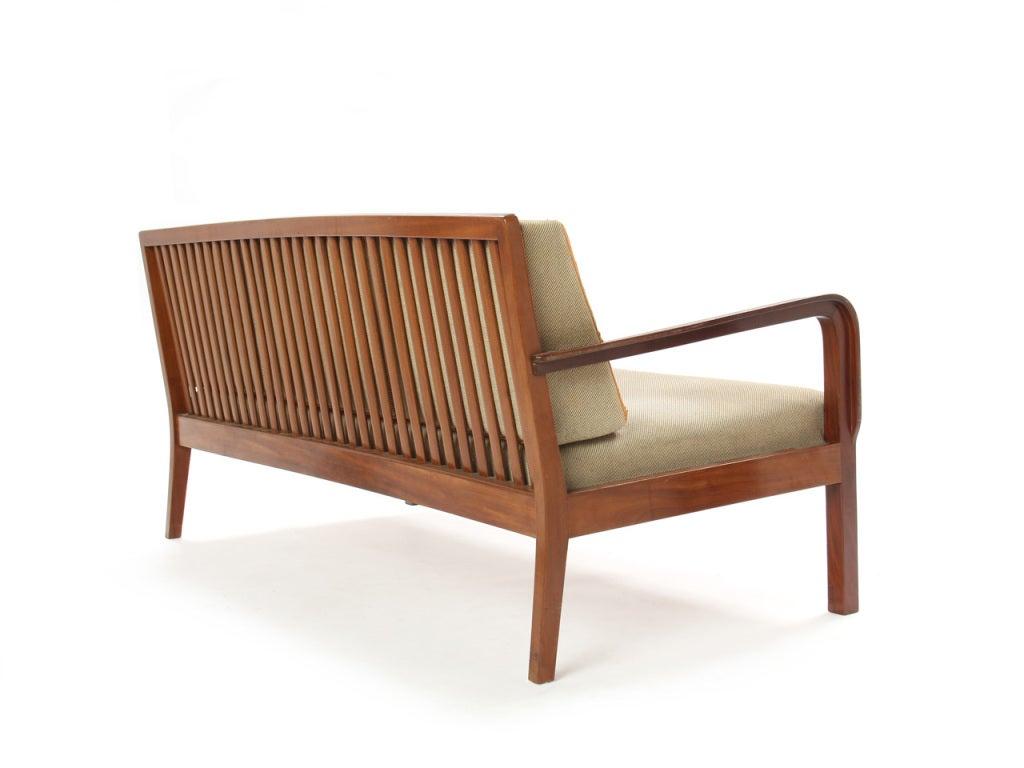 Slat-Back Sofa by Kindt-Larsen 4