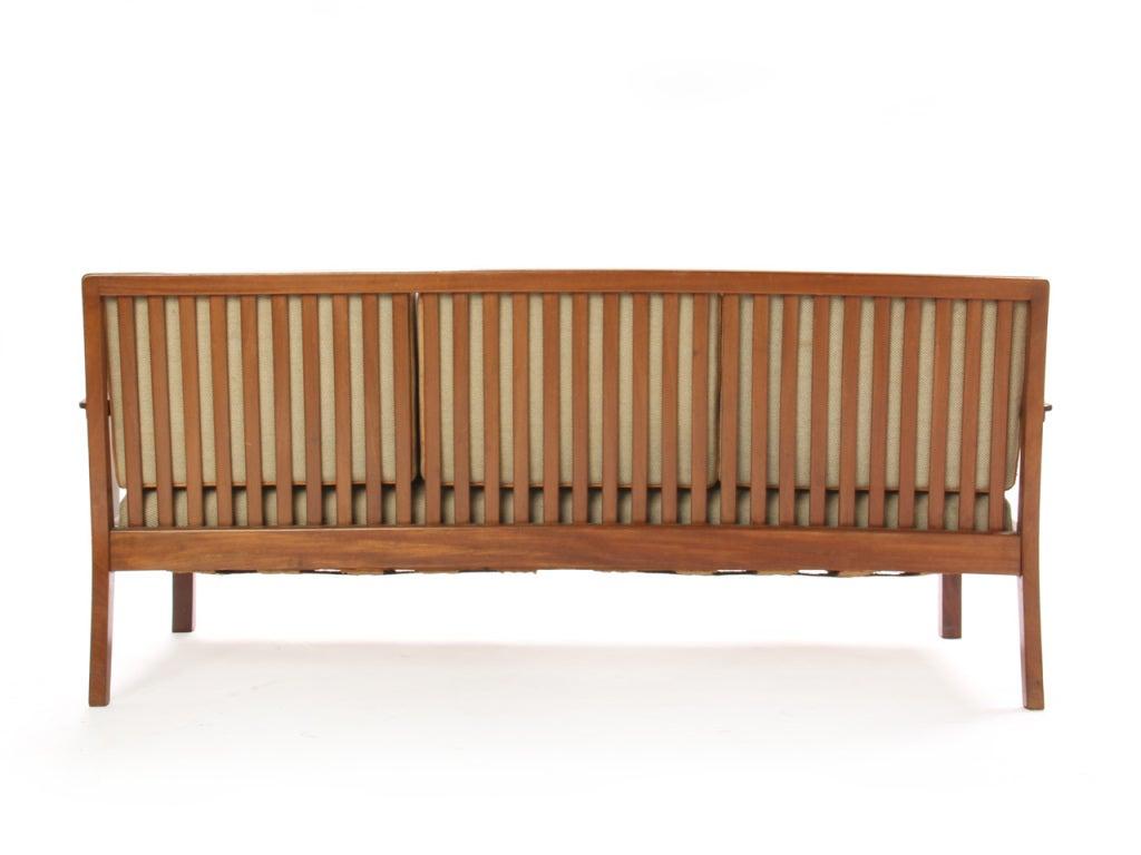 Slat-Back Sofa by Kindt-Larsen 5