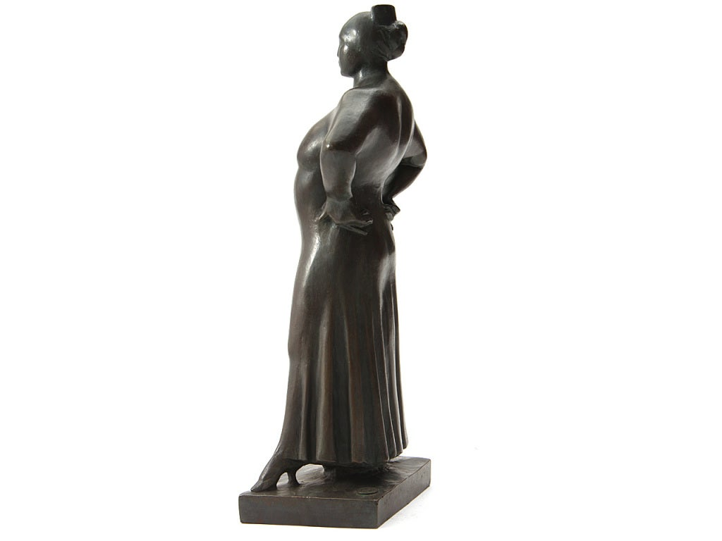 'Madame LaChaise' Sculpture In Good Condition For Sale In New York, NY