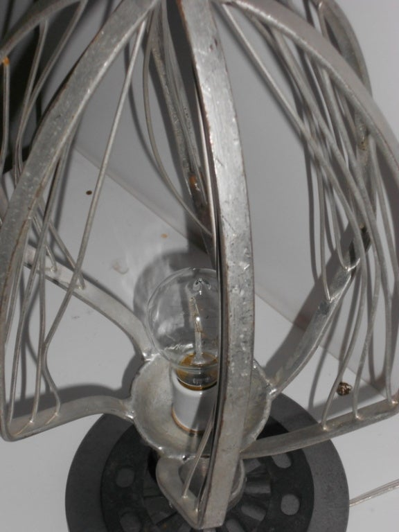 Commercial Bakery Wisk As Table Lamp At 1stdibs