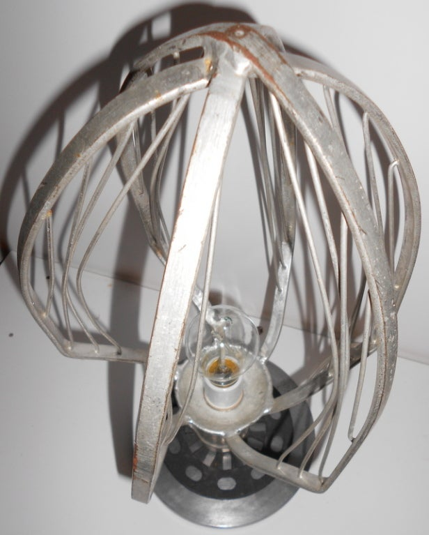 Commercial Table Lamps: Commercial Bakery Wisk As Table Lamp At 1stdibs