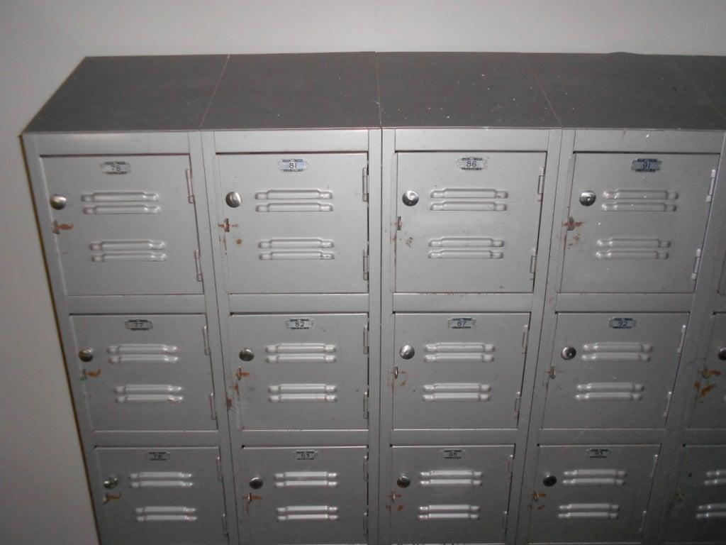 American Industrial Steel Storage Lockers For Sale