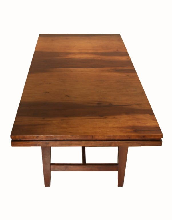 Dining table brazilian wood dining table for 3 sided dining room table