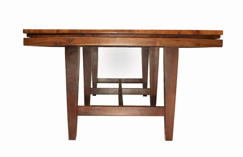 Massive Brazilian old growth Imbuia wood dining table at  : 888513504240254 from www.1stdibs.com size 800 x 517 jpeg 28kB