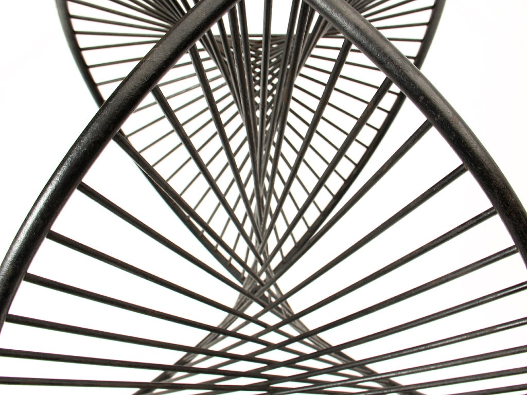 Steel Rod Sculpture 8