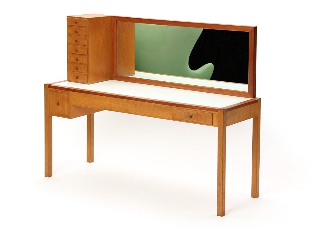 Oak Vanity By Anker Petersen At 1stdibs