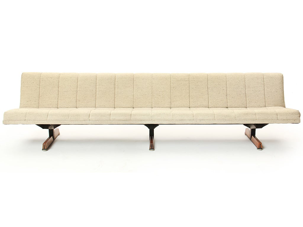 Upholstered Sofa Bench At 1stdibs
