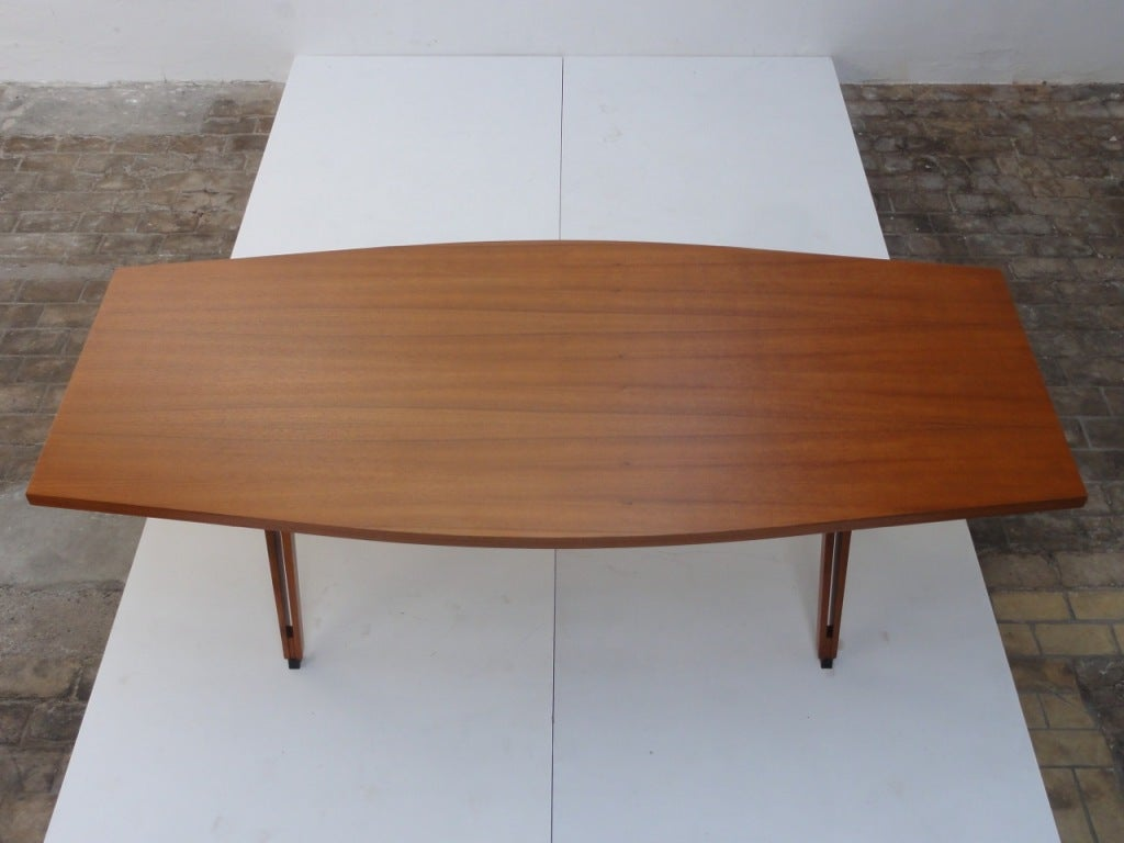 Ico Parisi Elliptical Form TERNI Conference Table MIM At Stdibs - Elliptical conference table