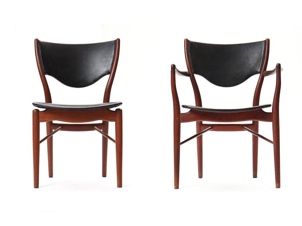 Set of Ten Sculptural Dining Chairs By Finn Juhl 2Set of Ten Sculptural Dining Chairs By Finn Juhl For Sale at 1stdibs. Finn Juhl Chair 108. Home Design Ideas