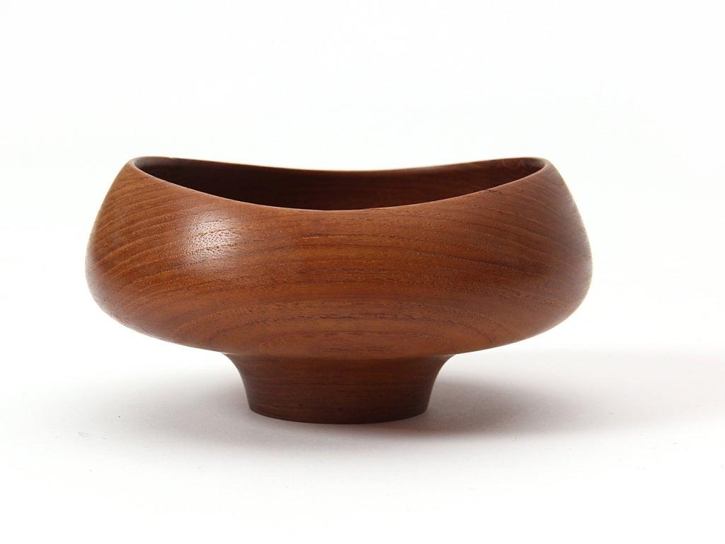 Danish Wood Bowl by Finn Juhl For Sale