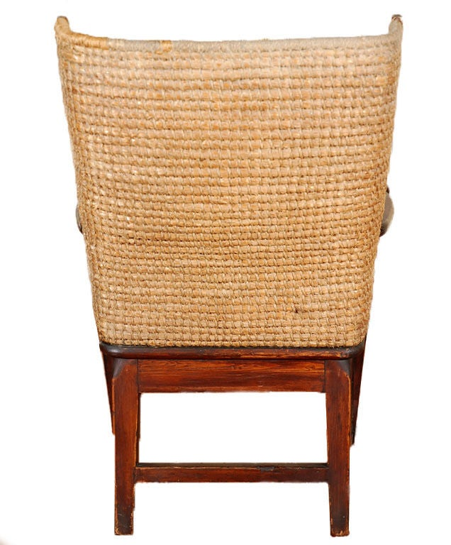 American Child's Highback Chair For Sale