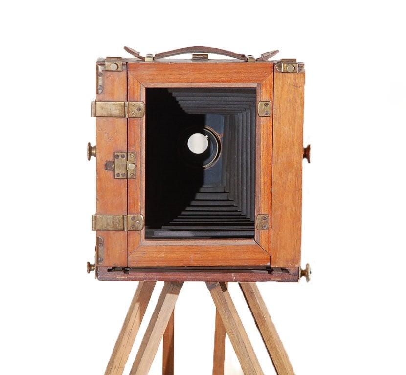 19th Century Antique Victorian Field Camera For Sale