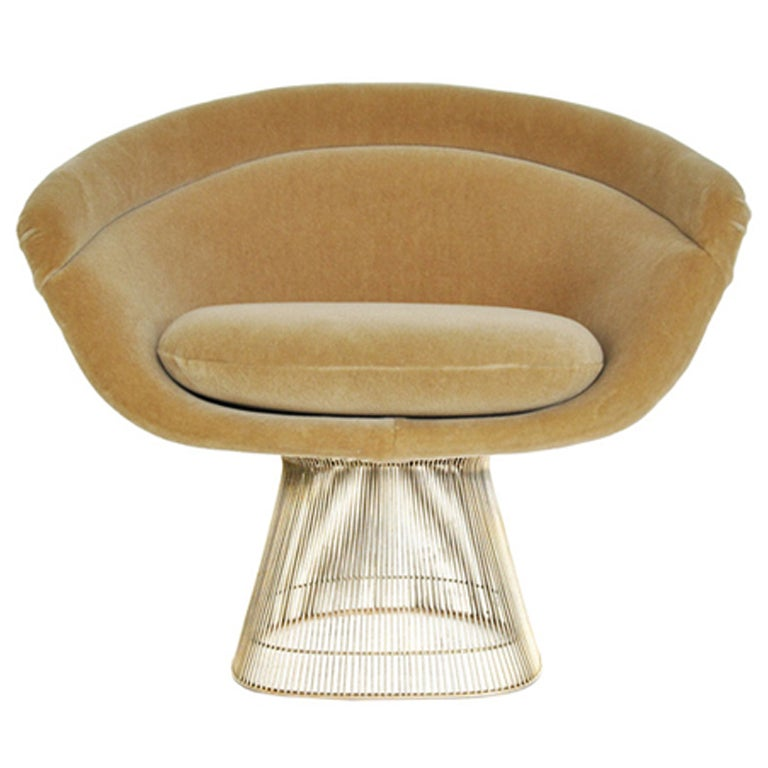 Warren Platner Lounge Chair At 1stdibs