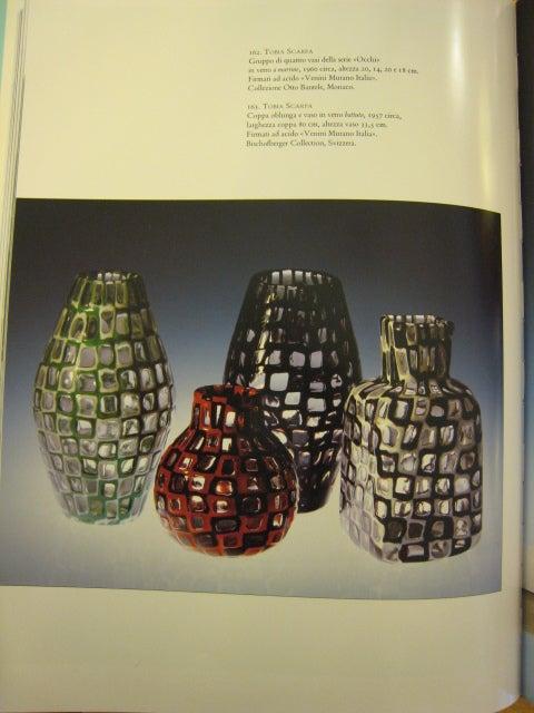 """Vase serie """"Occhi """" by Tobia Scarpa for Venini Murano 8"""