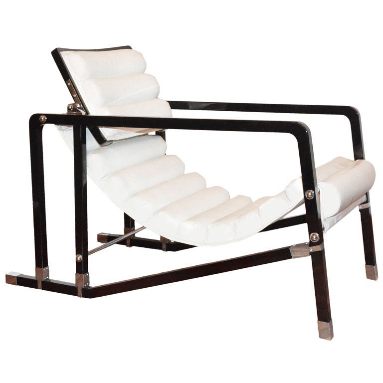 transat sofa chair by eileen gray at 1stdibs. Black Bedroom Furniture Sets. Home Design Ideas