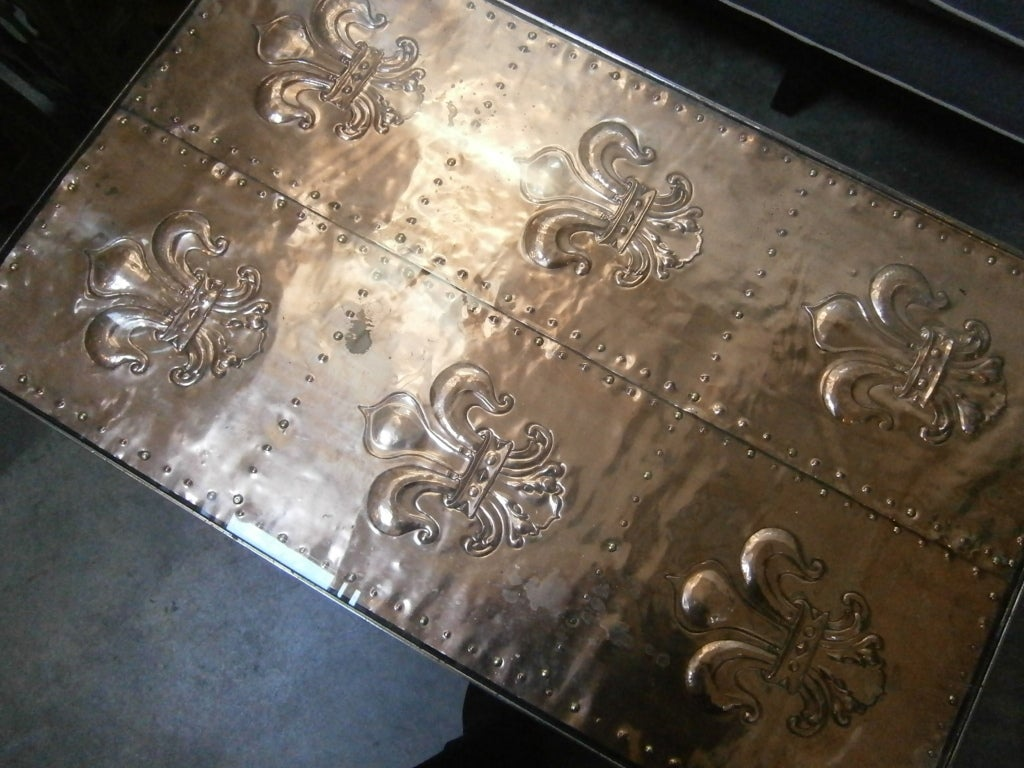 Iron Coffee Table For Sale 3