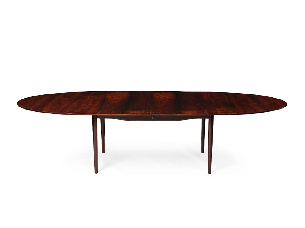 Danish A Rosewood Dining Table by Finn Juhl For Sale