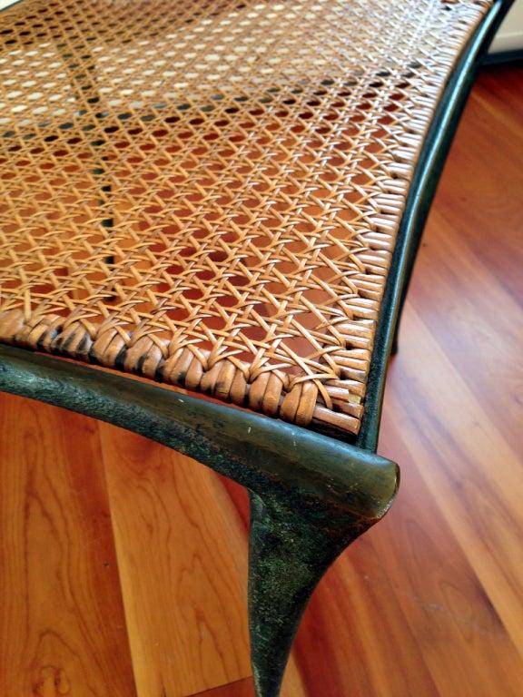 Pair of bronze Gazelle chairs Dan Johnson For Sale 1