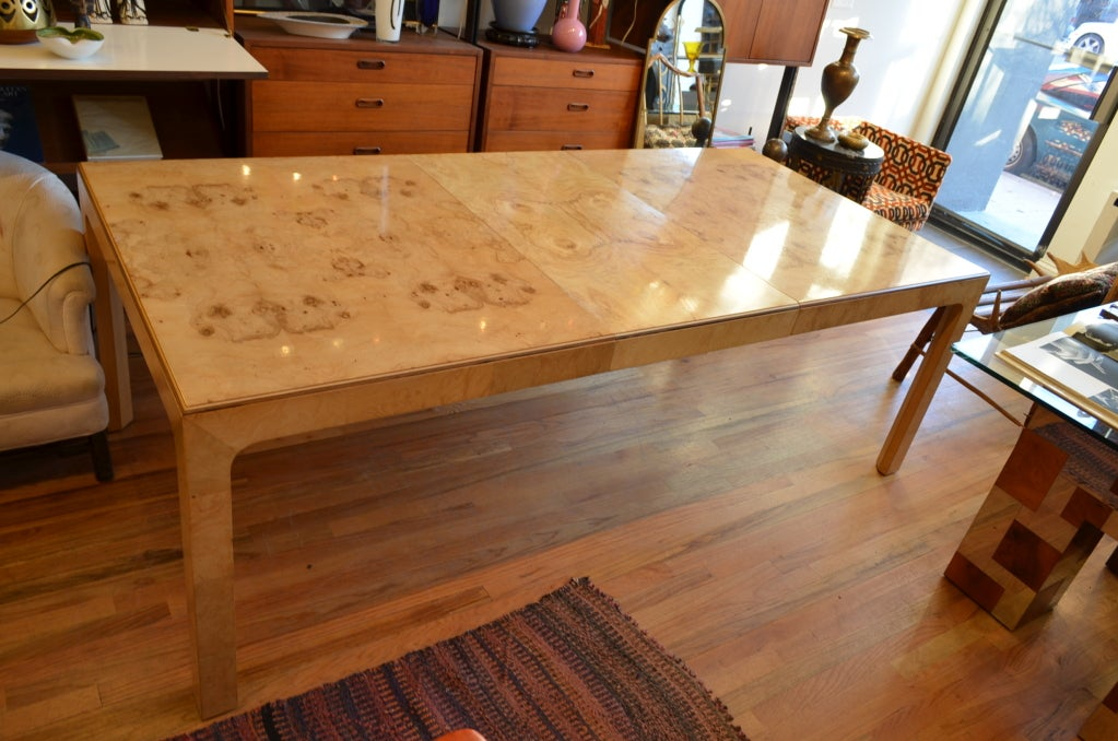 Henredon Dining Table From The Scene Two Collection At 1stdibs