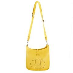 Hermès Soleil Togo Evelyne III PM Bag+