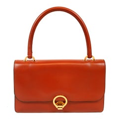 Hermès Brick Box Calf Vintage Handbag