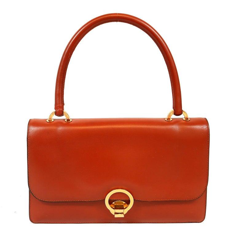 Hermès Brick Box Calf Vintage Handbag