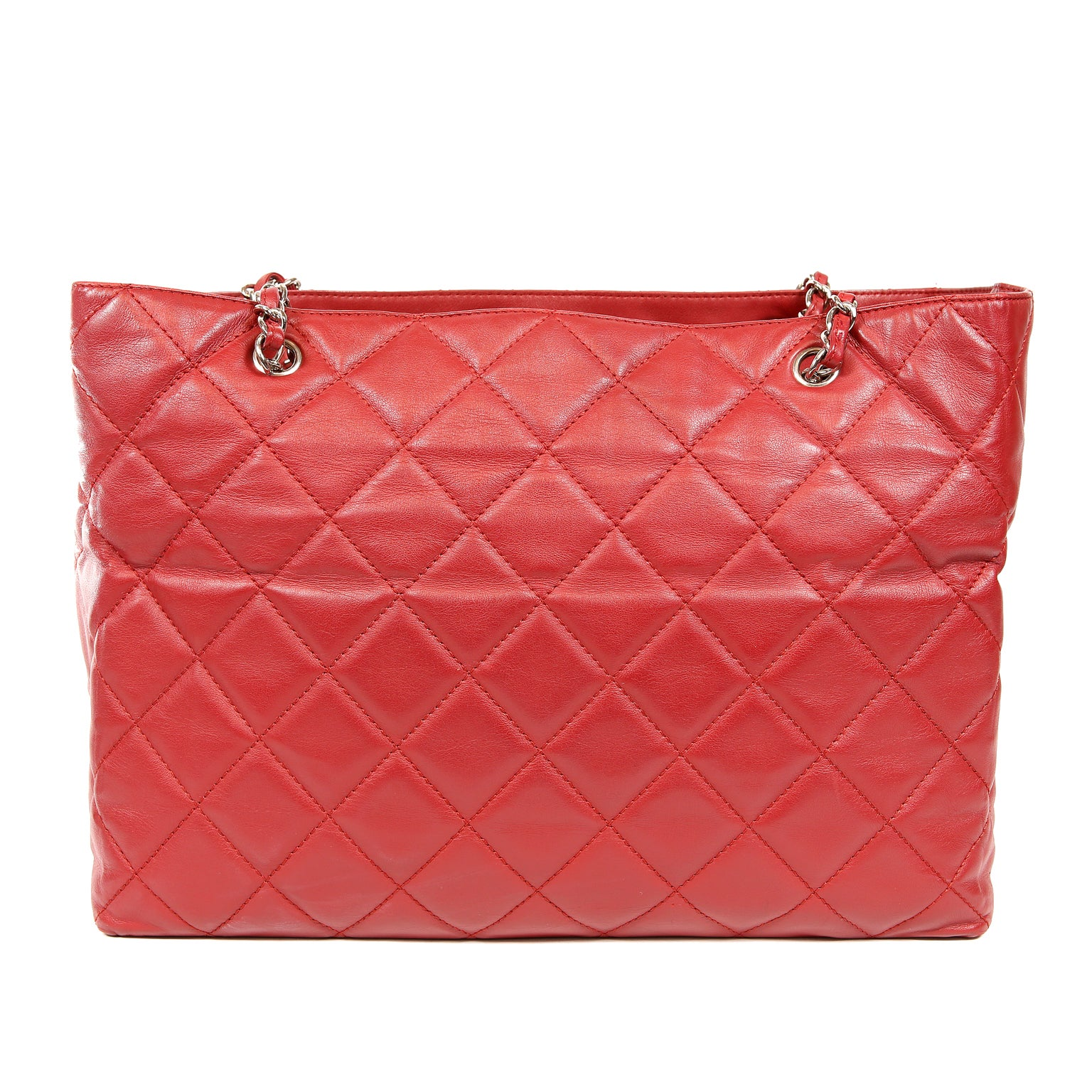 4129af9621 Chanel Red Leather XXL Tote Bag For Sale at 1stdibs