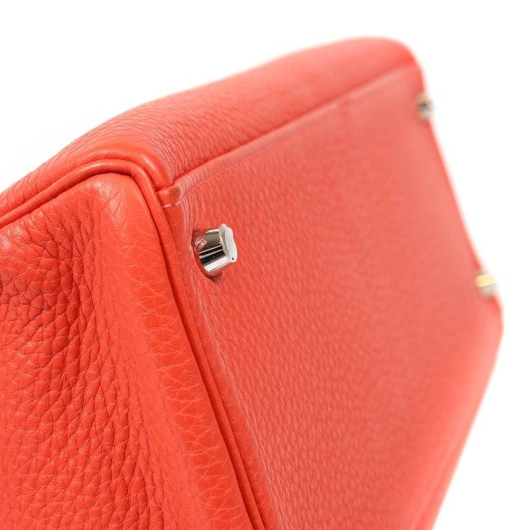 Women's Hermès Rose Jaipur Togo 35 cm Kelly Bag For Sale