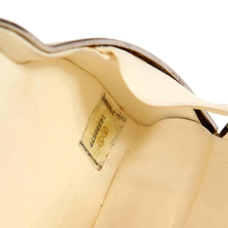 Chanel Beige Stingray Cross Body Evening Bag For Sale 12