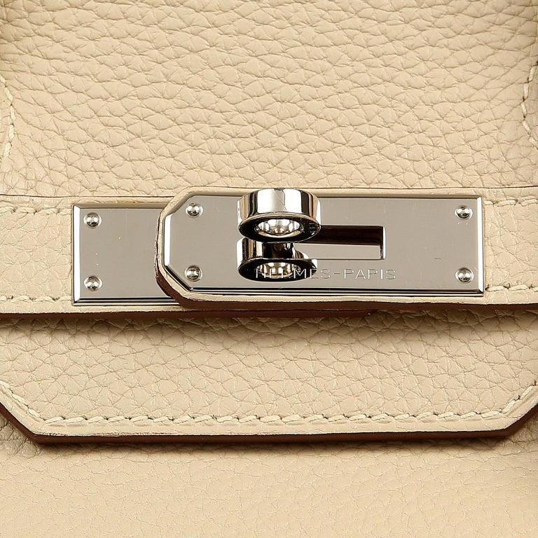 Hermes Parchemin Togo 35 cm Birkin Bag For Sale 1