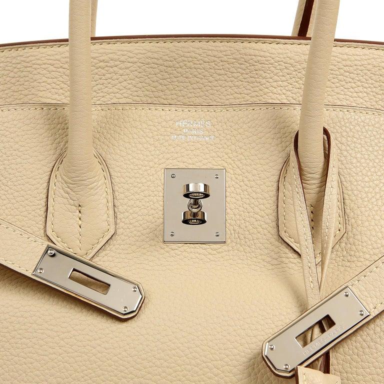 Hermes Parchemin Togo 35 cm Birkin Bag For Sale 2