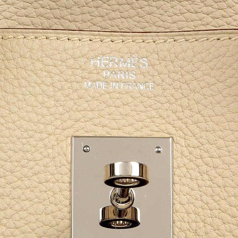 Hermes Parchemin Togo 35 cm Birkin Bag For Sale 3