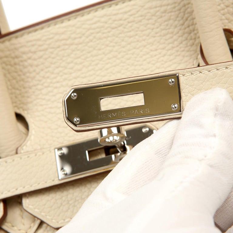 Hermes Parchemin Togo 35 cm Birkin Bag For Sale 4
