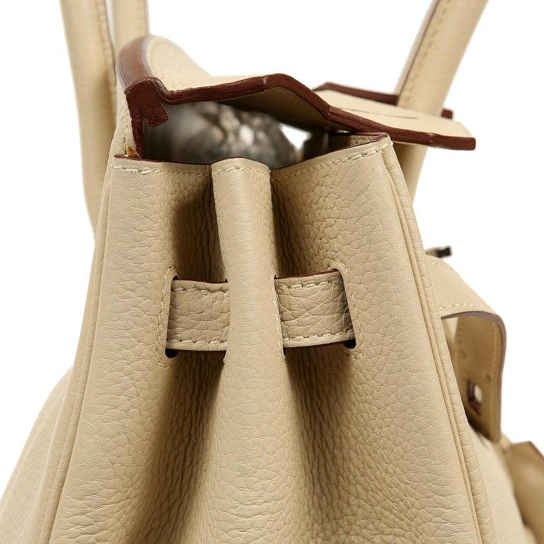 Hermes Parchemin Togo 35 cm Birkin Bag For Sale 5