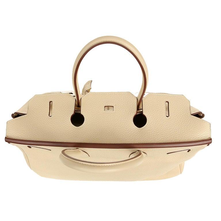 Hermes Parchemin Togo 35 cm Birkin Bag For Sale 6