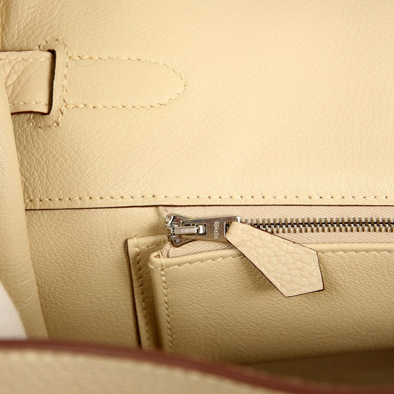 Hermes Parchemin Togo 35 cm Birkin Bag For Sale 9