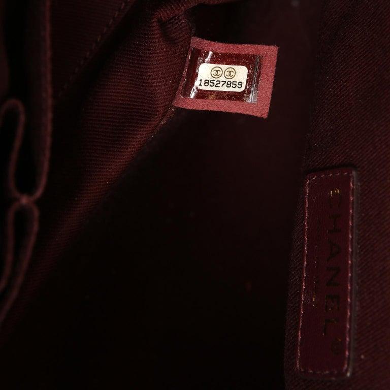 Chanel Black Leather Globetrotter Bag For Sale 7